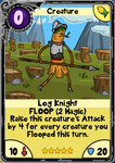 Log Knight