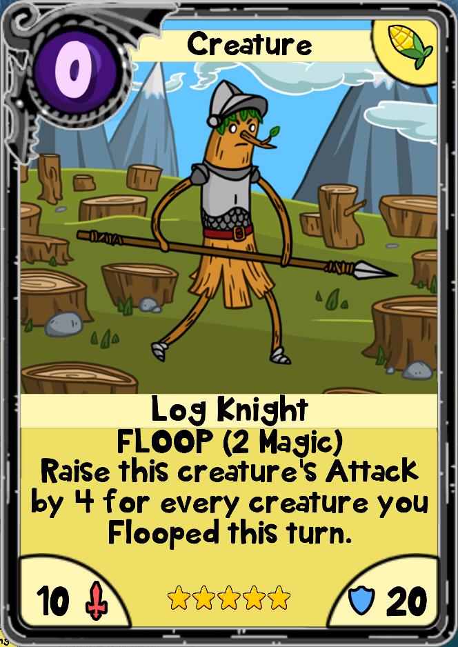 Log Knight Card Wars Wiki Fandom Powered By Wikia