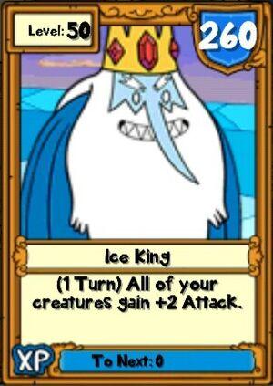 Super Ice King Hero Card