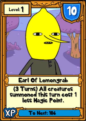 Earl of Lemongrab Hero Card