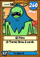 El Fisto Hero Card