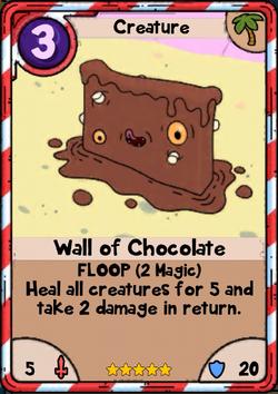 Wall of Chocolate