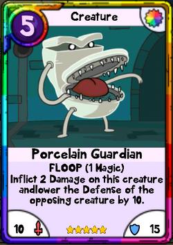 Porcelain Guardian