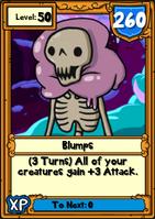 Blumps Hero Card
