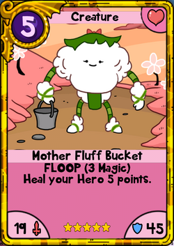 Mother Fluff Bucket Gold