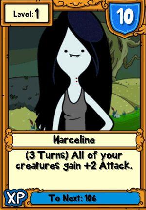 Marceline Hero Card