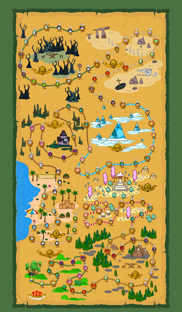 Quest Map New