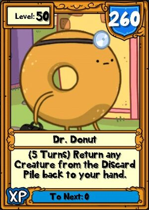 Dr. Donut Hero Card