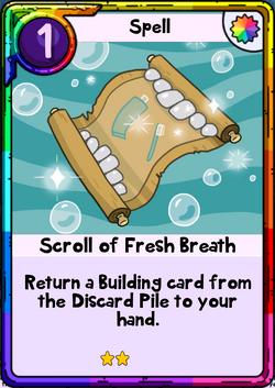 Scroll of Fresh Breath