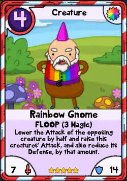 Rainbow Gnome