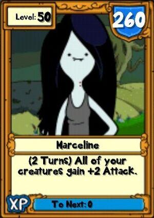 Super Marceline Hero Card
