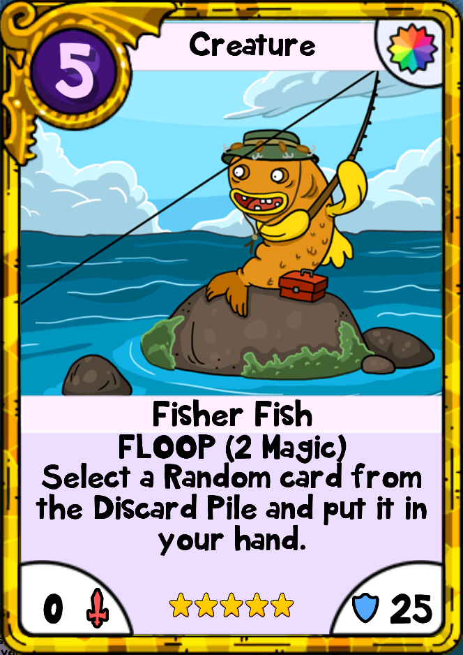 Fisher Fish Card Wars Wiki Fandom Powered By Wikia