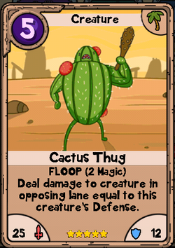 Cactus Thug