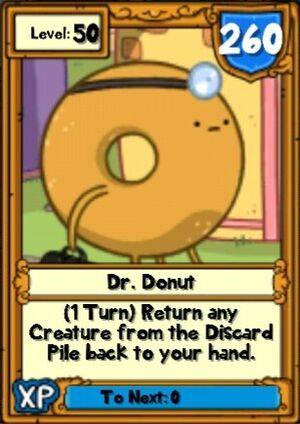 Super Dr. Donut Hero Card