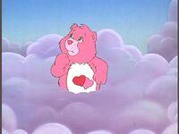 Love-a-Lot Bear is afraid