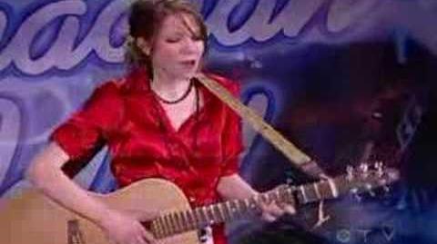 Auditon of Carly Rae Jepsen to Canadian Idol