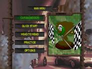 C64 main menu