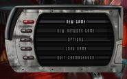 C1 main menu