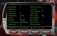 C1 controls menu
