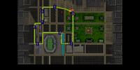 Pedestrians Shown on Map