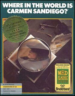 Where in the World is Carmen Sandiego-1985