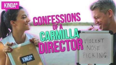 CONFESSIONS of a CARMILLA Director ft. Spencer Maybee KindaTV ft. Natasha Negovanlis