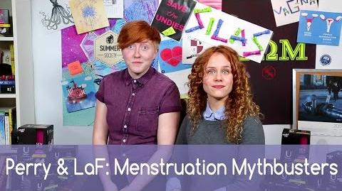 Menstruation Mythbusting with Perry & LaFontaine Carmilla U by Kotex-0