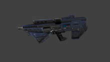 Assault rifle render