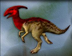 Carnivores Parasaurolophus target zone