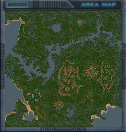Vengar Fjords map