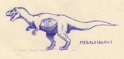 Carnosaur Novel Megalosaurus