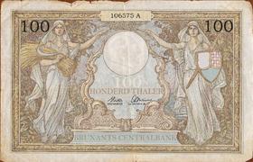 100 thalers 1928
