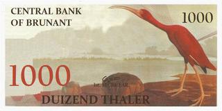 1000 thalers 1959