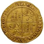 10 thalers gold, 1571