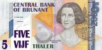 5 thalers 2000
