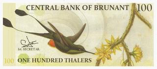 100 thalers 1959