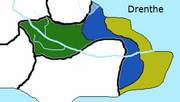 Drenthe Map Geographic