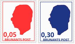Regular stamps