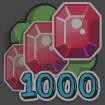 At gamecreator 1000gems off