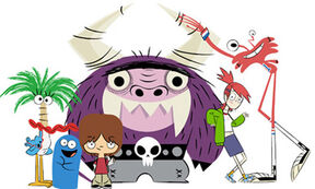 Foster's characters