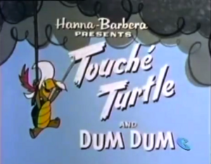 Touche Turtle Title Card