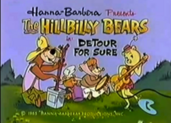 The Hillbilly Bears title