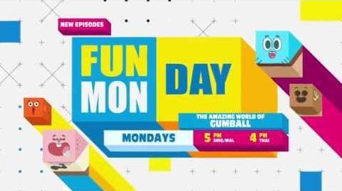 Funday Monday The Amazing World of Gumball - Promo-1
