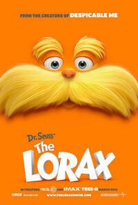 The lorax 2012 poster