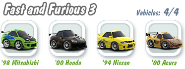 Fast and Furious 3 Collection
