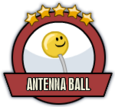 Joblogo antennaball