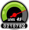 Level and XP indicator