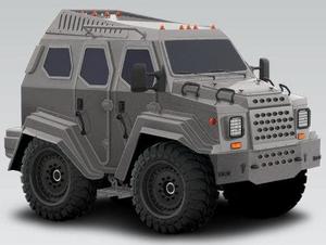 Armet Armored Vehicle Gurkha 2011