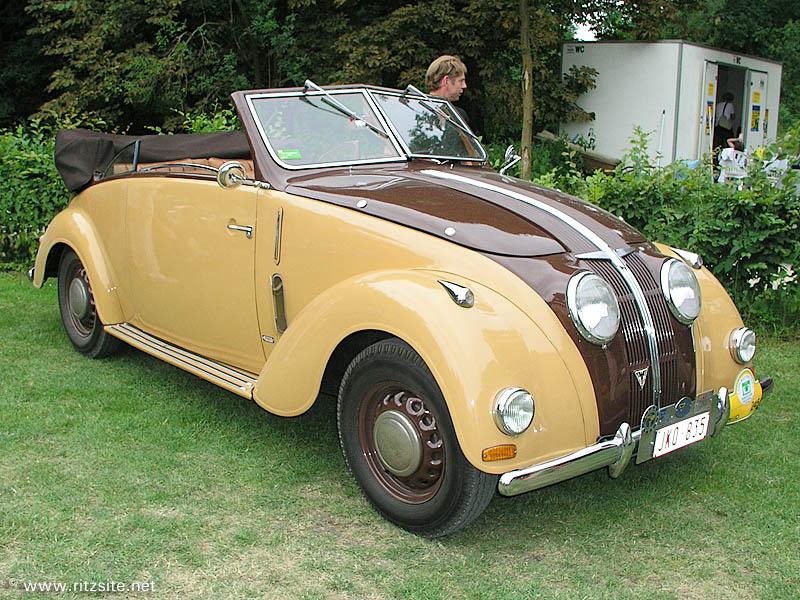 Adler 2,5 Liter cabriolet by Karmann 1938-1-
