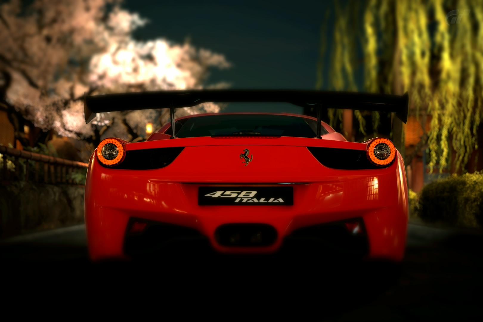 Red ferrari 458 italia by a designs-d33pmd8
